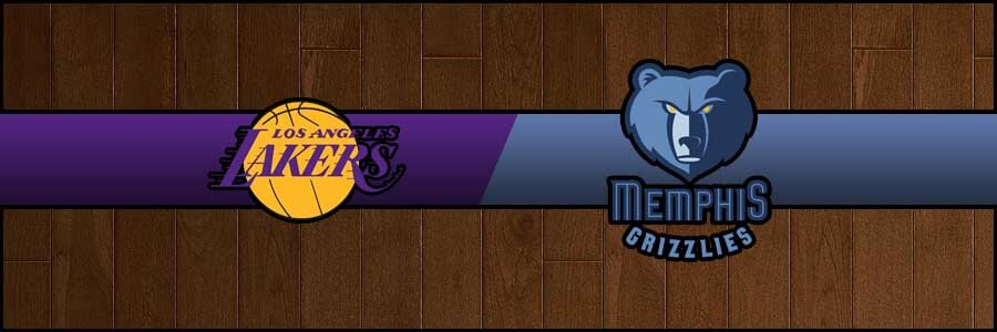Lakers vs Grizzlies Result Basketball Score