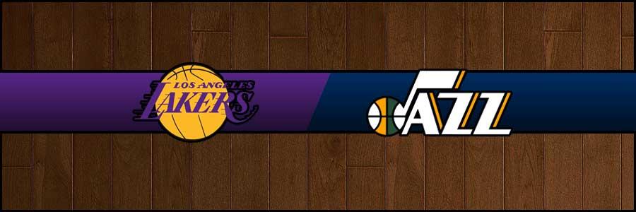 Lakers vs Jazz Result Basketball Score