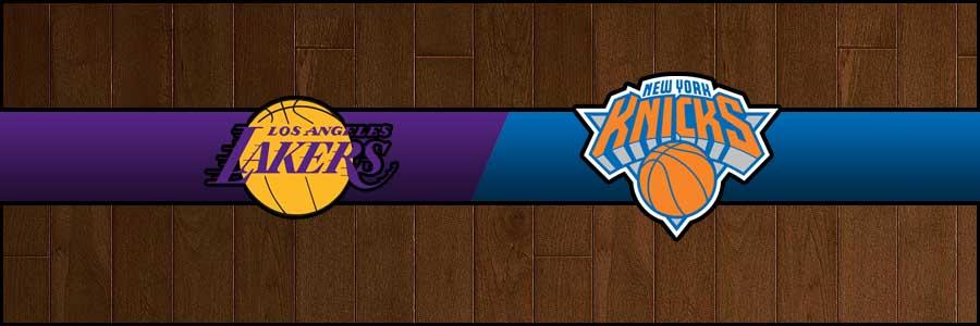 Lakers vs Knicks Result Basketball Score