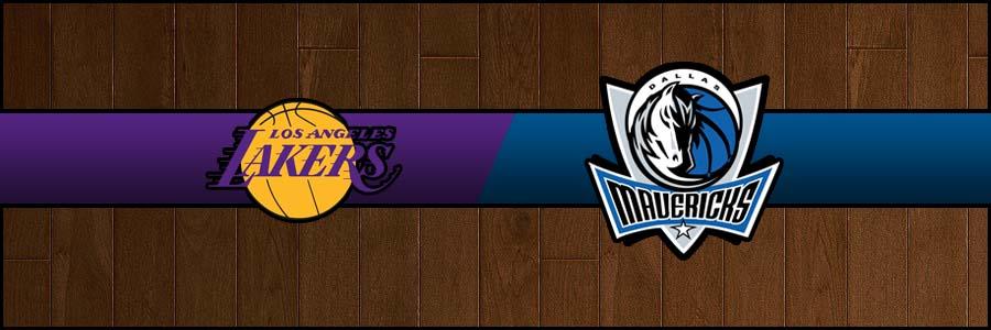Lakers @ Mavericks Result Friday Basketball Score