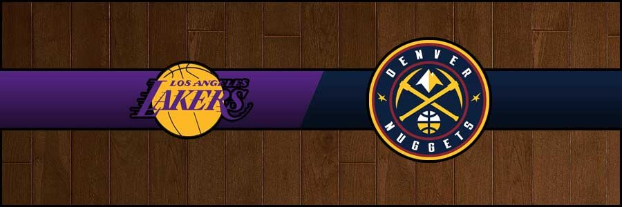 Lakers vs Nuggets Result Basketball Score
