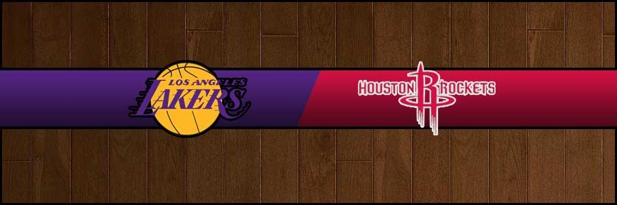 Lakers vs Rockets Result Basketball Score