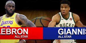 LeBron vs Giannis Result All Star Basketball Score