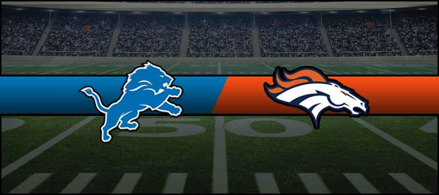 Lions vs Broncos Result NFL Score