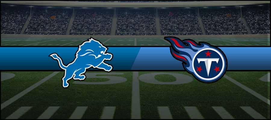 Lions vs Titans Result NFL Score