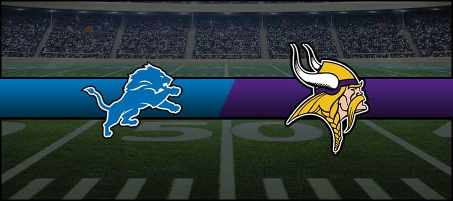 Lions vs Vikings Result NFL Score