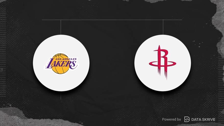 Los Angeles Lakers vs Houston Rockets Game 1 Odds ...
