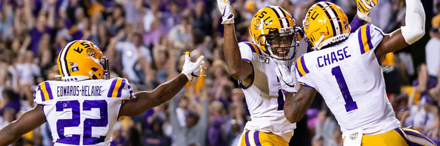 How to Bet Arkansas vs LSU 2019 College Football Week 13 Odds & Game Info