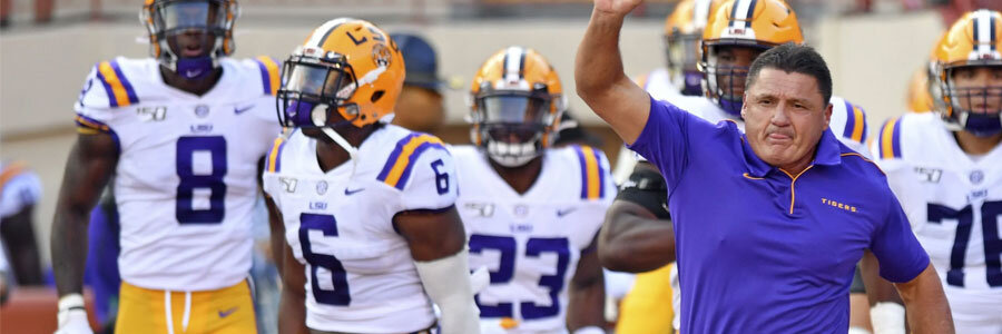 LSU vs Vanderbilt 2019 College Football Week 4 Odds, Game Info and Prediction