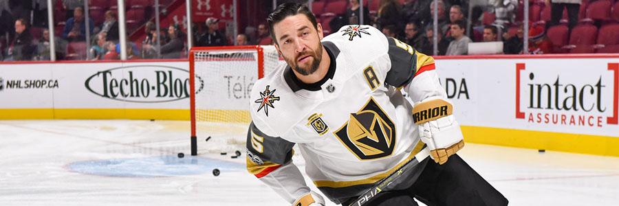 Golden Knights are Slight Underdogs at the NHL Odds vs. Lightning