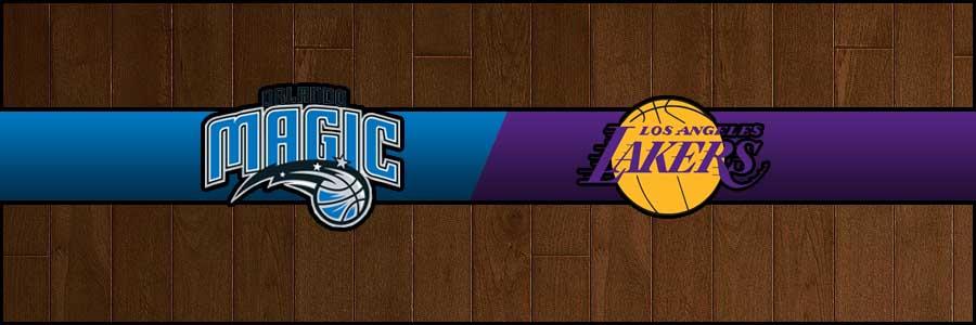 Magic vs Lakers Result Basketball Score