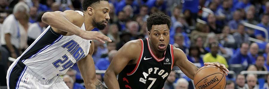 Toronto has won the last three games in the series, they can move on with a win over the Magic tonight.