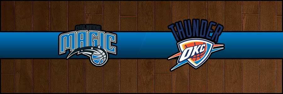 Magic vs Thunder Result Tuesday Basketball Score