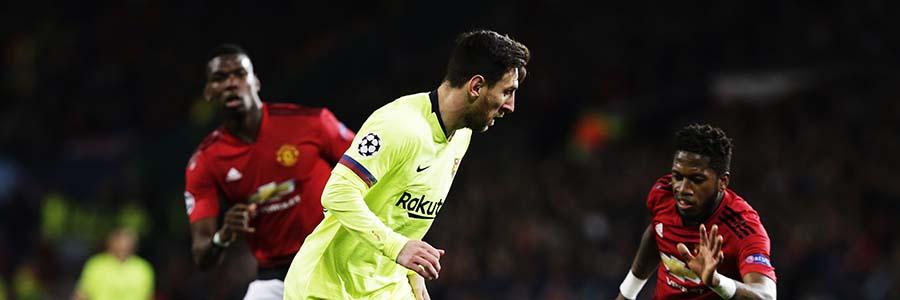 Barcelona vs Manchester United 2019 Champions League Odds & Prediction
