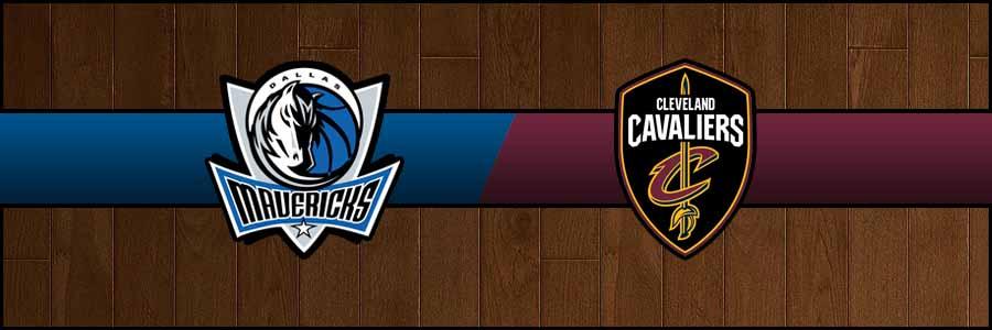 Mavericks @ Cavaliers Result Sunday Basketball Score