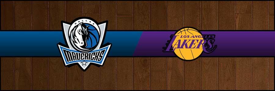 Mavericks vs Lakers Result Basketball Score