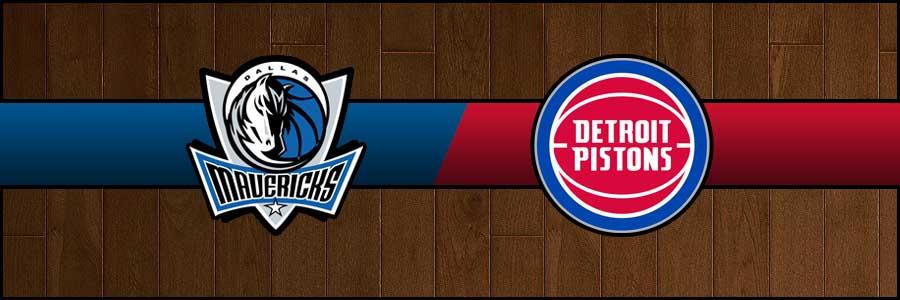 Mavericks vs Pistons Result Basketball Score