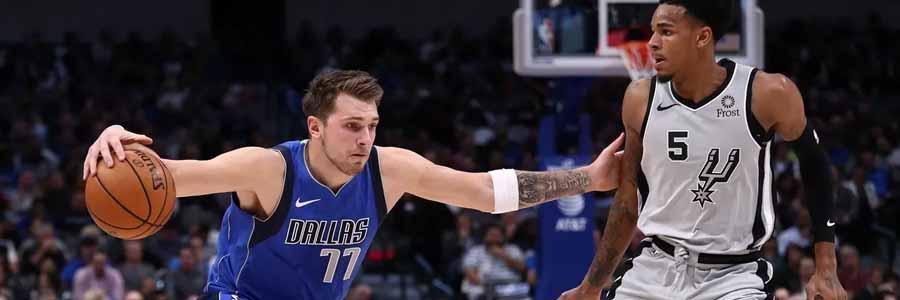 Mavericks vs Spurs 2020 NBA Game Preview & Betting Odds