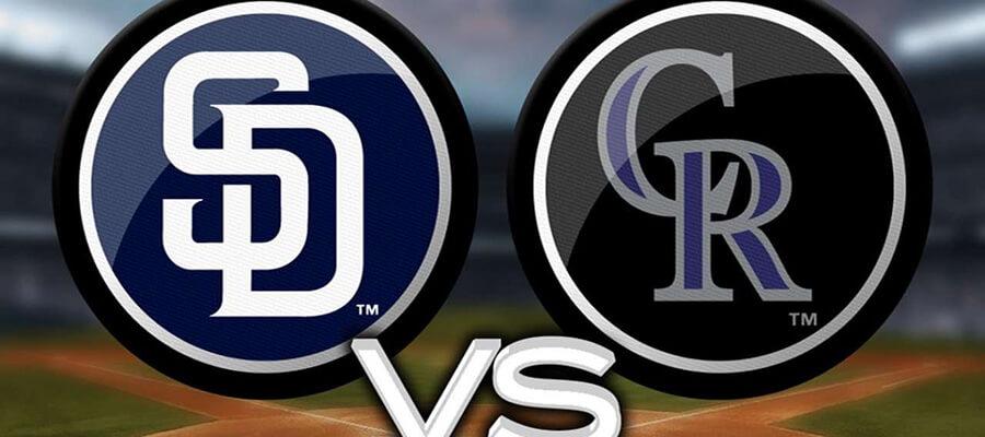 Rockies vs Padres