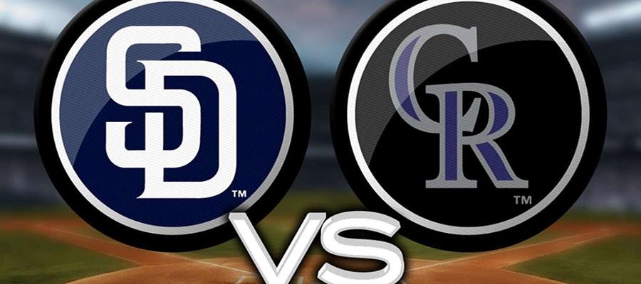 Padres vs. Rockies