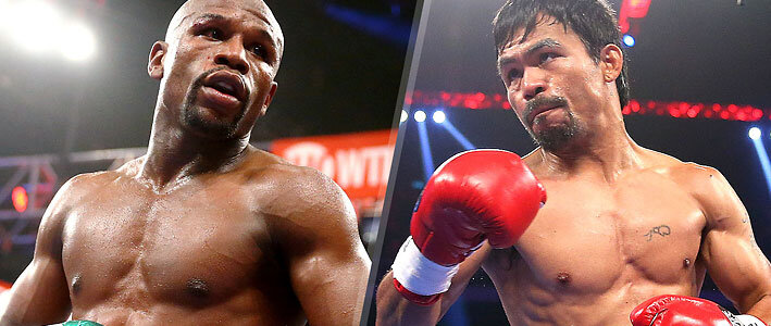 Boxing Betting Props for Pacquiao vs Mayweather Match