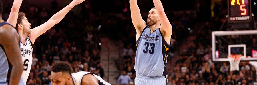 Memphis at San Antonio NBA Playoffs Betting Pick Game 1