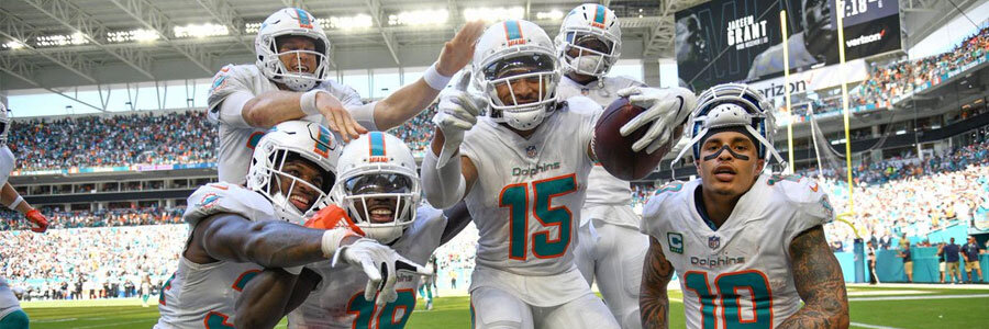 Dolphins at Patriots NFL Week 4 Lines & Game Info