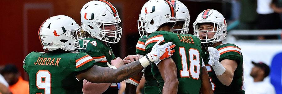 Miami vs Virginia NCAA Football Week 7 Spread & Preview
