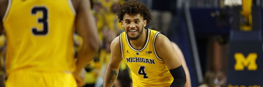 Michigan vs Rutgers NCAA Basketball Betting Lines & Preview