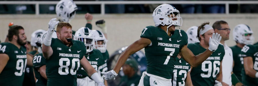 Are the Spartans a safe bet to win in NCAA Football Week 8?