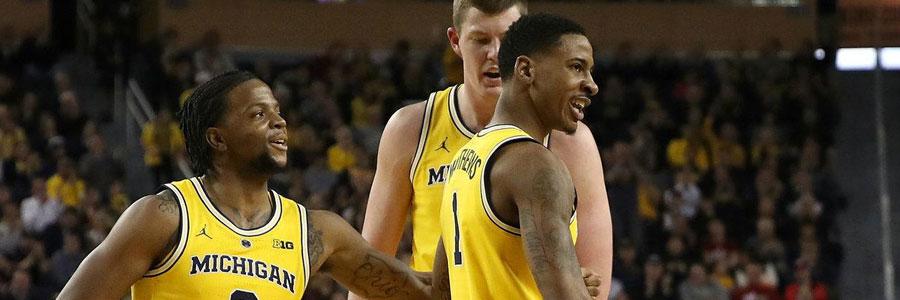 Michigan vs Illinois NCAAB Odds & Game Prediction
