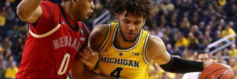 Michigan vs Michigan State NCAAB Odds, Game Preview & Pick