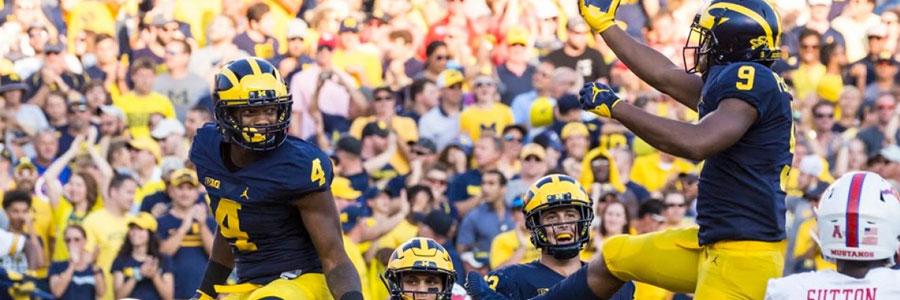 Michigan Wolverines2019 College Football Season Betting Guide
