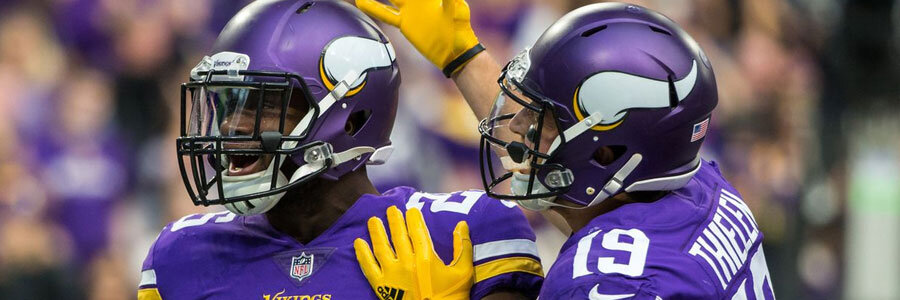 Minnesota Vikings 2018 NFL Win/Loss Odds Prediction