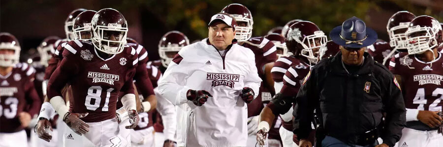 Mississippi State comes in as the underdog at the TaxSlayer Bowl Betting Odds.