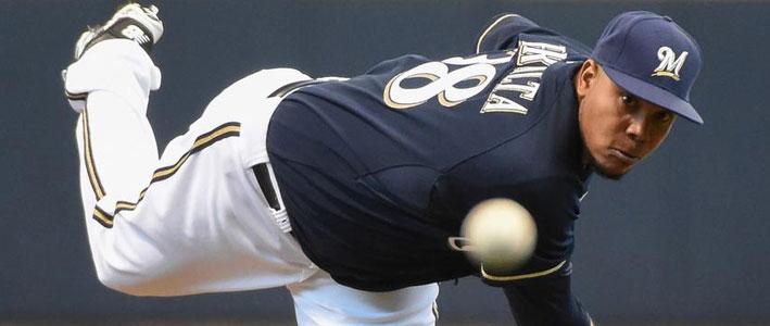 Bet on Philadelphia Phillies at Milwaukee Brewers MLB Lines