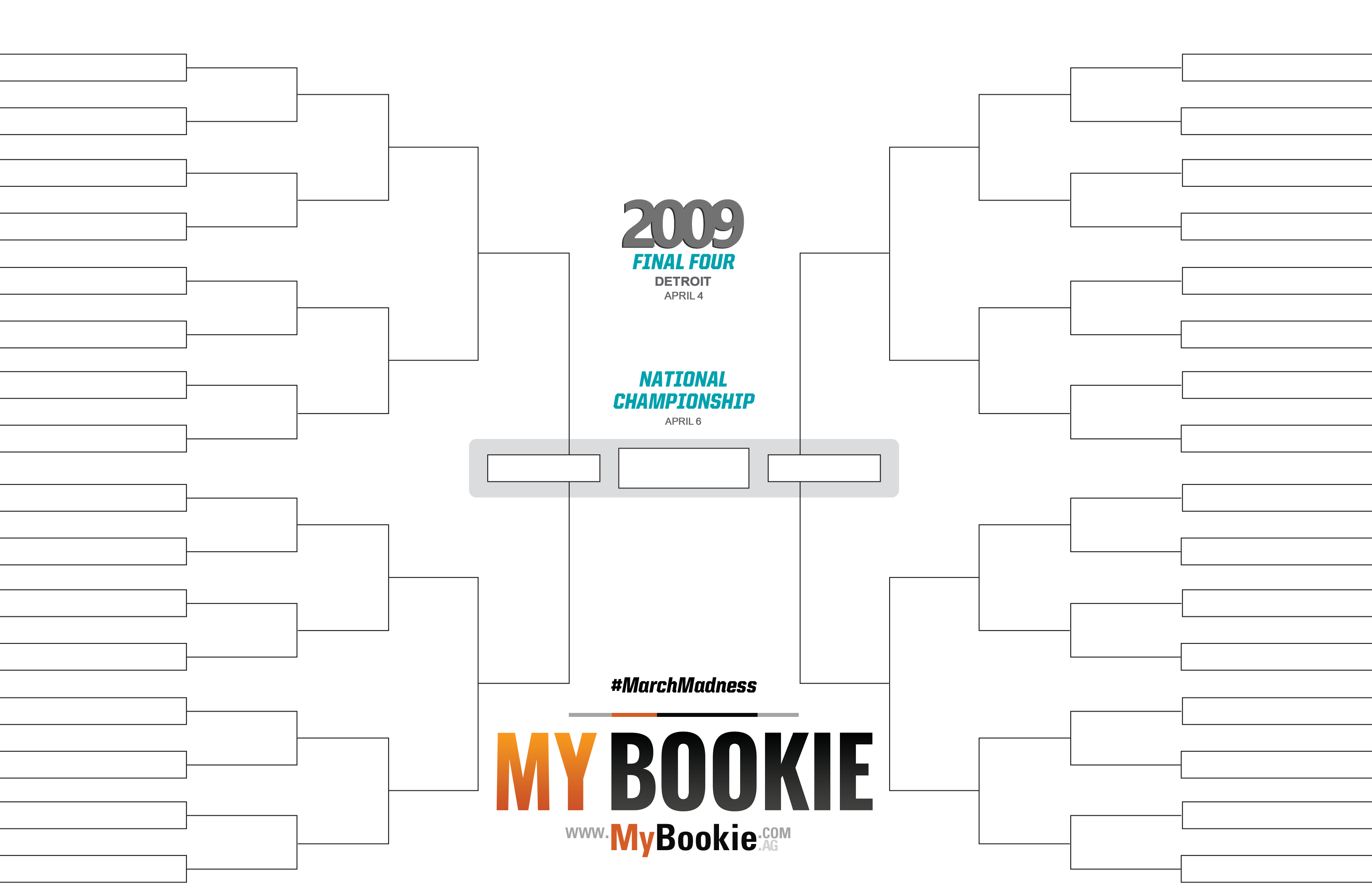 March Madness Bracket 2020 Printable.March Madness 2009 Printable Ncaa Bracket Mybookie Sportsbook