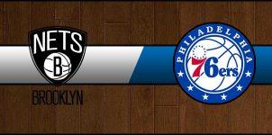 Nets vs 76ers Result Basketball Score