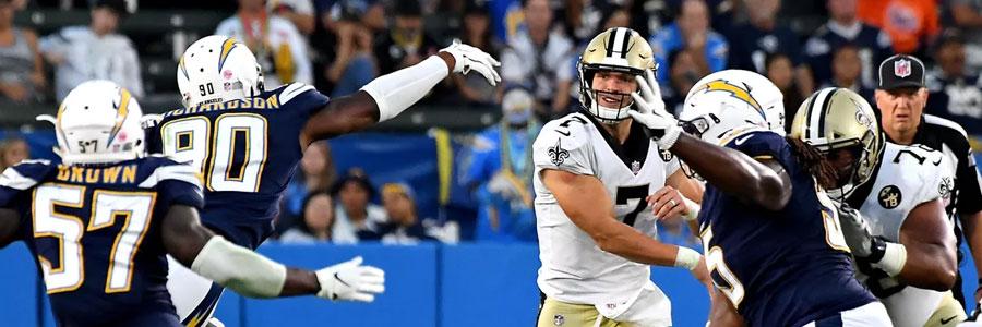 Saints vs Chargers 2019 NFL Preseason Week 2 Lines, Game Info & Prediction