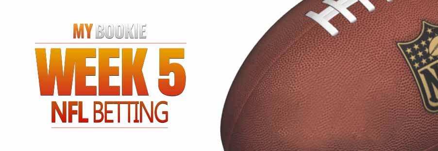 Week 5 NFL Odds, NFL Week Five Lines