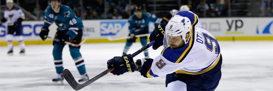 St. Louis Blues at San Jose Sharks NHL Playoffs Lines Game 3