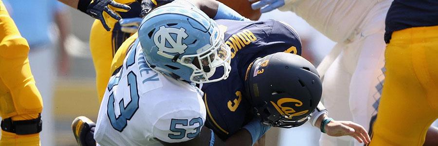 North Carolina vs Miami NCAA Football Week 5 Spread