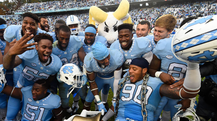 north carolina, ncaaf spread, mybookie