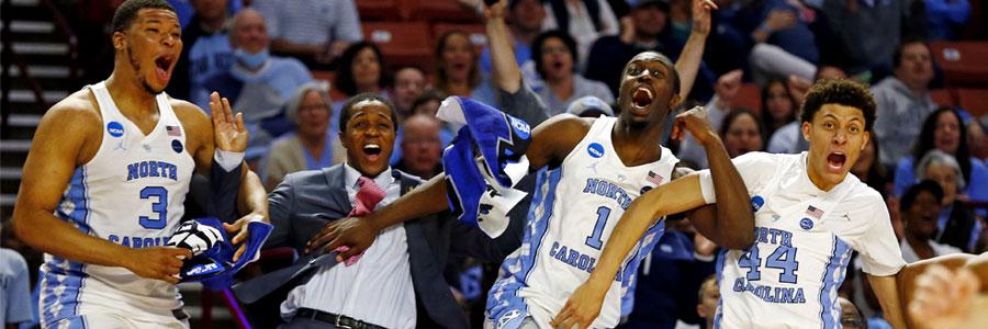 North Carolina vs Kentucky Elite 8 NCAAB Odds, Pick & TV Info