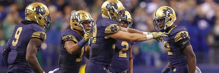 Notre Dame Fighting Irish 2019 College Football Season Betting Guide