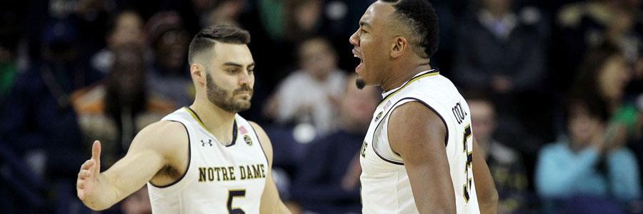 Notre Dame at Duke NCAA Basketball Lines & Expert Pick