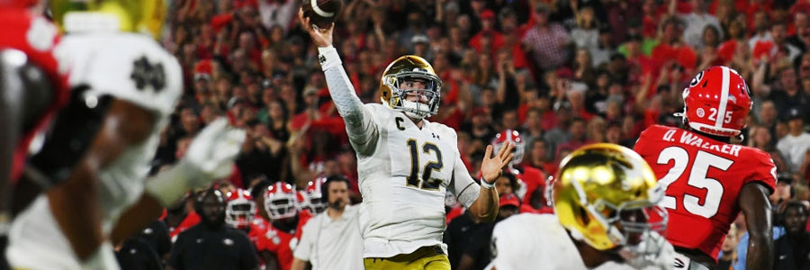 USC vs Notre Dame State 2019 College Football Week 7 Odds & Betting Preview
