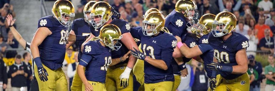 Notre Dame Fighting Irish 2019 Season Win / Loss Total Odds & Betting Prediction