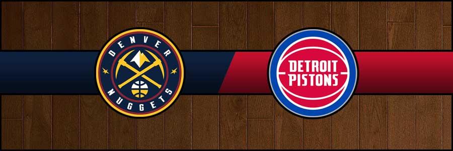 Nuggets vs Pistons Result Basketball Score