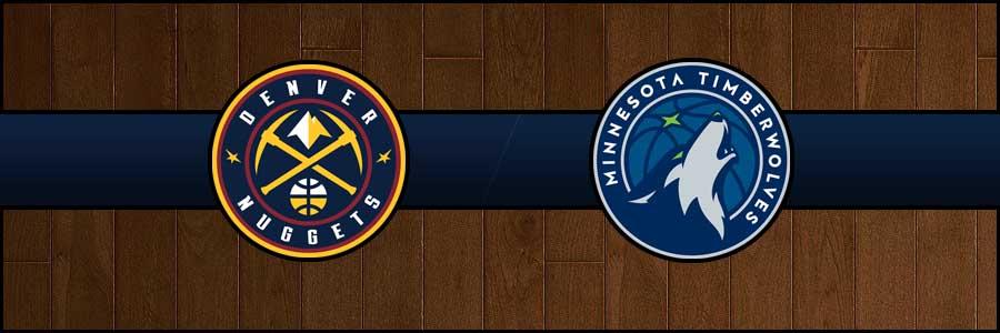 Nuggets vs Timberwolves Result Basketball Score